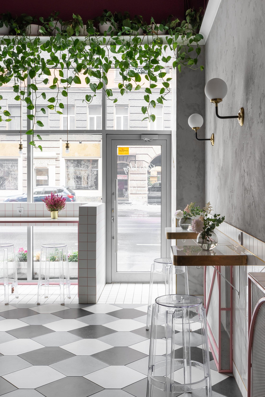 дизайн-проект кофейни в Санкт-Петербурге