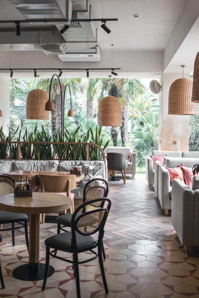 дизайн-проект интерьера ресторана Mama Roma