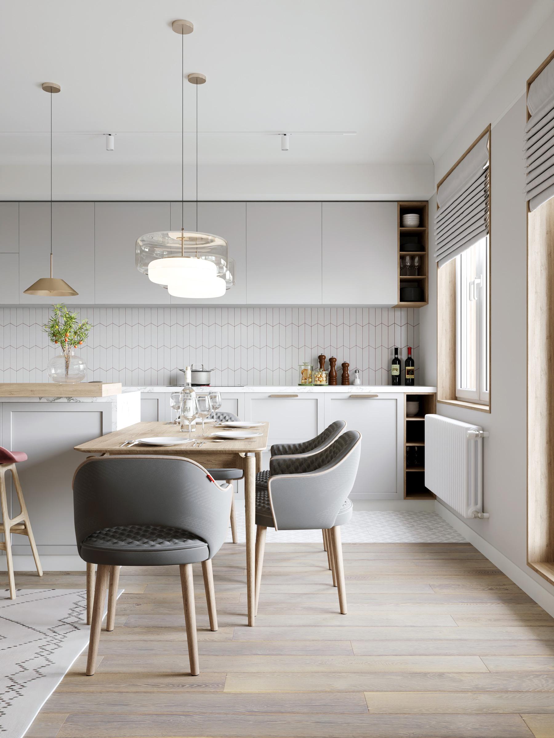 дизайн-проект квартиры в ЖК Skandi Klubb